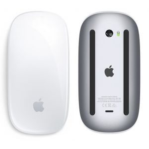 Keyboard & Mice: Official Genuine Apple Magic Mouse 2 Bluetooth Rechargeable MLA02Z/A A1657 - Silver