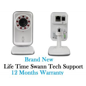 CCTV Cameras: Swann ADS-450 IPC SwannSmart Wi-Fi Network CCTV Camera Secure Cloud Storage Twin Pack