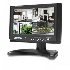 CCTV Systems: Swann DVR4 1525 500GB 4 Channel 4X PRO-615 Security Cameras 7 inch Monitor CCTV Kit