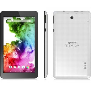Hipstreet Titan 4 Quad Core Android 5 Lollipop 7 inch Tablet PC 8GB Bluetooth White