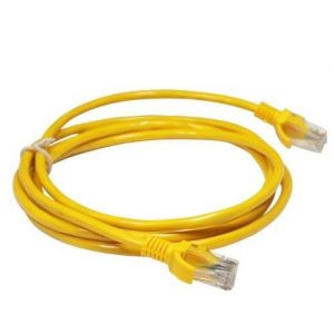 Cables - Networking: Network Cat5e UTP 10 100 RJ45 2M Internet Lan Patch Lead Ethernet Cable