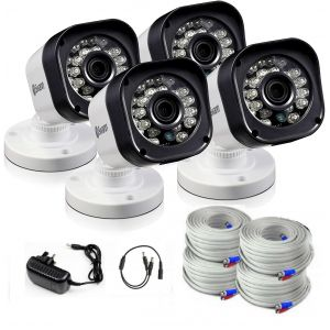 Swann Pro T835 HD 720p Bullet Security CCTV Cameras LED Nigh