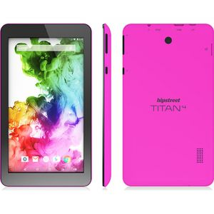 Hipstreet Titan 4 Quad Core Android 5 Lollipop 7 inch Tablet PC 8GB Bluetooth Pink