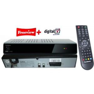 Freeview Recorders: Goodmans GD11FVRSD50 Freeview+ Twin Tuner PauseTV Recorder 500GB DVR Series Link