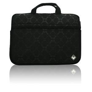 Laptop Accessories: ISIS DEI Riviera Laptop & Macbook Pro Sleeve 15.4 inch Neoprene Black