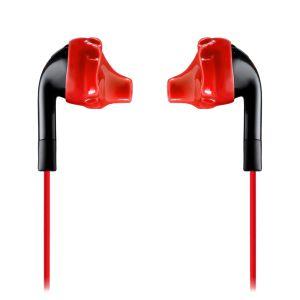 Headphones: JBL Inspire 100 In the Ear Sport Earphone with TwistLock Technology - Black/Red