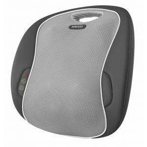 Health & Fitness: HoMedics MULTIZONE MCSBK-350H-GB Shiatsu Massage Cushion with Heat Back Leg Body