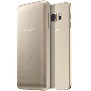 Genuine Samsung Galaxy S6 Edge Plus 3400mA Wireless Charger Battery Pack Case Gold