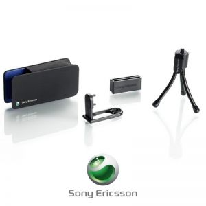 Sony Ericsson Camera Mobile Phone Kit IPK-100 Cyber-shot Tripod Belt C...