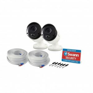 Swann SWPRO-5MPMSB 5MP Super HD Thermal PIR Bullet Security Cameras For DVR 4980 - TWIN PACK