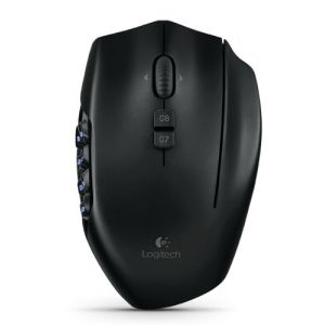 Logitech G600 MMO USB Gaming Mouse 20 Programmable Buttons Lighting - Black