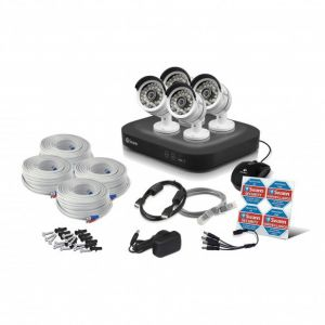 Swann DVR4 4750 8 Channel 1080p TVI AHD 2TB HDD Pro-T858 3MP 4 Camera CCTV Kit