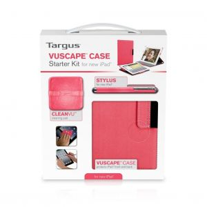 Tablets & Accessories: Targus Vuscape Starter Kit for iPad 9.7 inch BEU3174-01P Calypso Pink