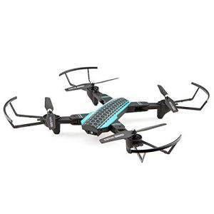 R.D.M. CREATIONS Xtreme Pro Foldable Drone with HD Camera 2.4 GHz WiFi - Black