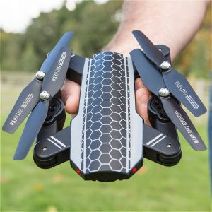 Gadgets & Gifts: R.D.M. CREATIONS Xtreme Pro Foldable Drone with HD Camera 2.4 GHz WiFi - Black