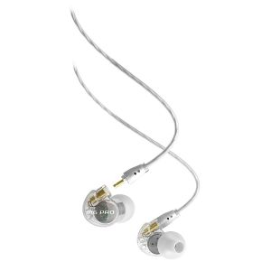 Headphones: MEE Audio M6 PRO IEM In-Ear Earphones with Replaceable Cable Microphone - Clear