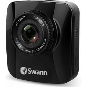 Swann 1080p Navigator Full HD Dash Cam Recorder GPS Tracking - Black