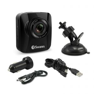In Car Recorders: Swann 1080p Navigator Full HD Dash Cam Recorder GPS Tracking - Black