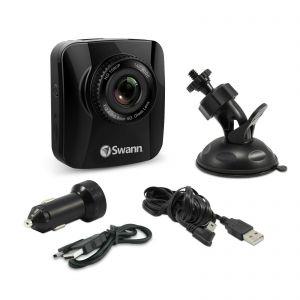 In Car Recorders: Swann 1080p Navigator Full HD Dash Cam Recorder GPS Tracking - Black