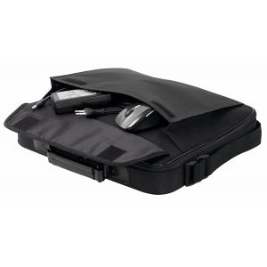 Laptop Accessories: GenericTraditional Notepack Laptop Case Fits Up to 17 inch Notebook Bag Black