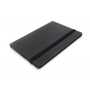 Tablets & Accessories: Belkin 10.1 inch Verve Leather Folio Stand Case Black Leather Samsung Galaxy Tab