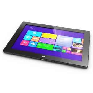 Tablets: HipStreet W10 Pro Windows Tablet Convertible Laptop 32GB 2GB Quad Core Purple