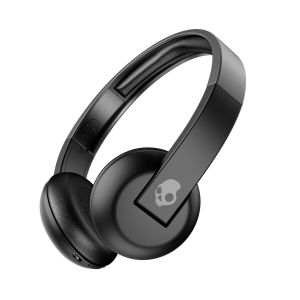 Headphones: SKULLCANDY UPROAR Bluetooth Wireless Over-Ear Headphones Mic Upto 10 Hr Battery - Black