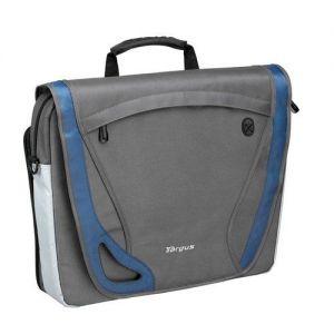 Laptop Accessories: Targus TBM002EU 15.4 inch Free Spirit Messenger Laptop Bag Business Traveller Grey