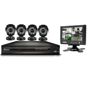 Swann DVR4 1200 4 Channel 4 X PRO-535 Security Cameras CCTV