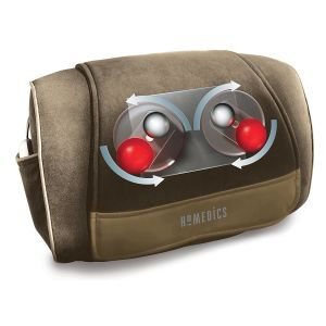 Health & Fitness: Homedics Shiatsu SP-39H Cushion Back Neck Shoulder Lumbar Heated Delux Massager