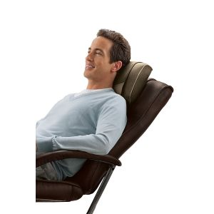 Health & Fitness: Homedics Shiatsu SP-39H Cushion Back Neck Shoulder Lumbar Heated Delux Massager
