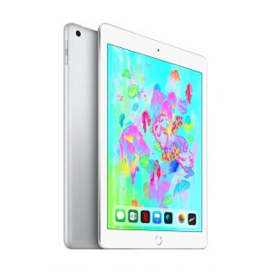 Tablets & Accessories: Apple iPad (6th Gen) 9.7 inch 32GB Wi-Fi iOS Tablet A1893 MR7G2B/A (2018) - Silver