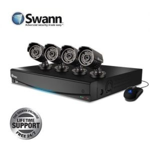 Swann DVR4 1425 4 Channel 4 X 650 TVL PRO-535 Security Cameras CCTV 500GB D...