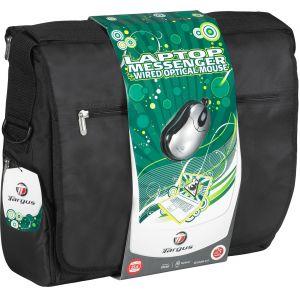 Laptop Accessories: Targus Laptop Messenger Bag BEU3098-01p 15.4 inch Notbook Case & Portable Optical Mouse Bundle