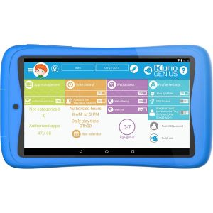 Tablets: KURIO TAB CONNECT 7 inch Kids 16GB Android 6 Tablet - Blue