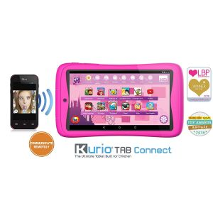 Tablets: KURIO TAB CONNECT 7 inch Kids 16GB Android 6 Tablet - Pink