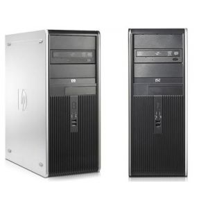 PCs: HP Compaq DC7900 Desktop Tower PC KP719AV Intel Core 2 Duo 3.0GHz 1GB RAM 160GB HDD Windows Vista