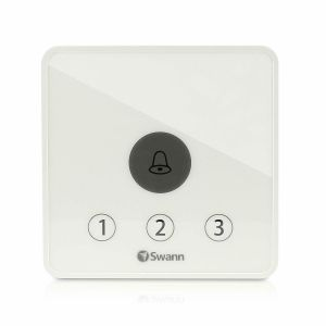 CCTV Accessories: Swann Wireless Home Driveway Gate Alert Kit DIY Motion Detection Alarm - White