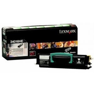 Lexmark 34016HE laser toner cartridge For E330 E332 E340 E342 x 1 - Black