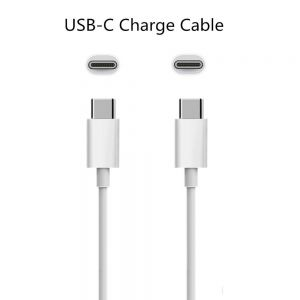 Genuine Official Apple MLL82ZMA USB-C Charge Cable 2 meter white cable