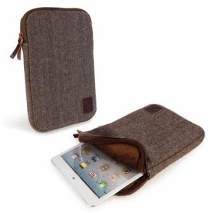 Tuff-Luv Herringbone Tweed sleeve case cover 7 inch iPad Min