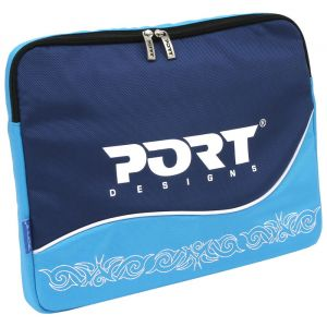 Laptop Accessories: Port designs Antalya 15.4 inch Laptop Notebook Nylon Skin Sleeve 150002