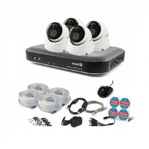 Swann SWDVK 4980 DVR 8 Channel 2TB HDD 5MP CCTV  PRO-5MPMSD x4 Camera Kit