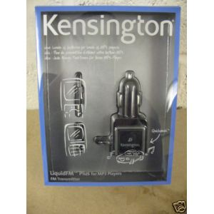Kensington LiquidFM Plus IPOD MP3 Car Tuner Transmitter Cigarette Lighter Charge