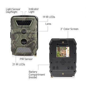 CCTV Cameras: Swann OutbackCam 12MP Outdoor Camera 1080p HD Video Portable Recorder CCTV DVR