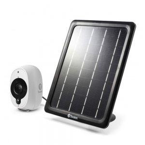 CCTV Accessories: Swann Solar panel Add-On For Swann Smart Security Camera SWWHD-Intcam Cloud USB