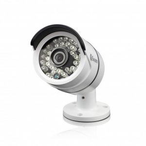 CCTV Cameras: Swann Pro T858 Cam Super HD 3MP CCTV Bullet Camera Night Vision 30m For DVR-4750 - Twin Pack
