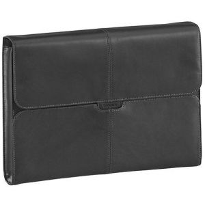 Targus TES003EU 10.2 inch Hughes Leather Notebook SlipCase Netbook Laptop Bag Black