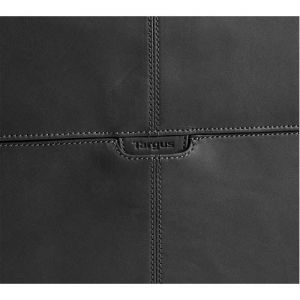 Laptop Accessories: Targus TES003EU 10.2 inch Hughes Leather Notebook SlipCase Netbook Laptop Bag Black