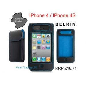 Belkin Verve IPhone 4 4G / 4S PU Leather Protective Case Sleeve BNIB R...